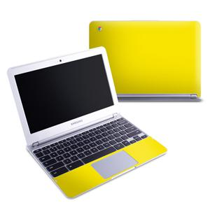 yellow chromebook